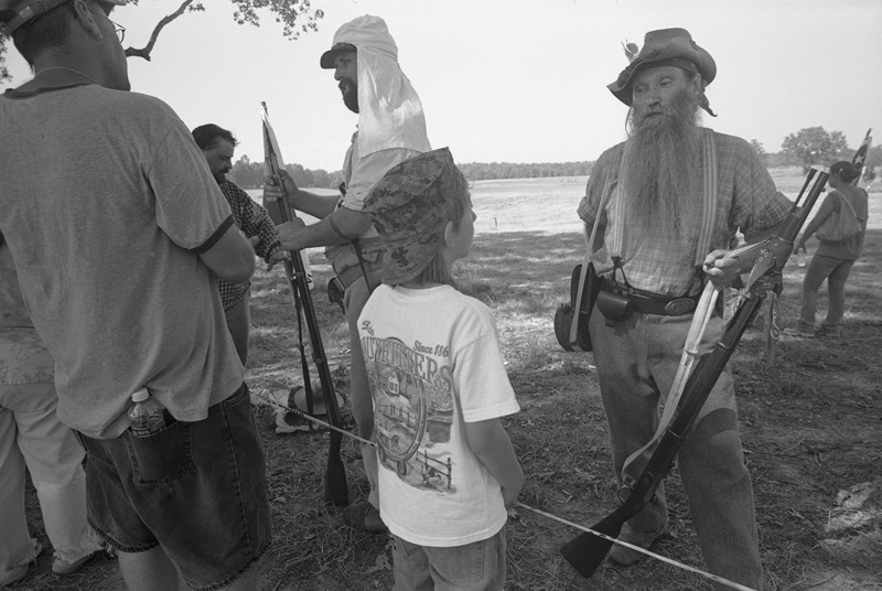 After a Re-enactment, Farmington, Mississippi, 2010