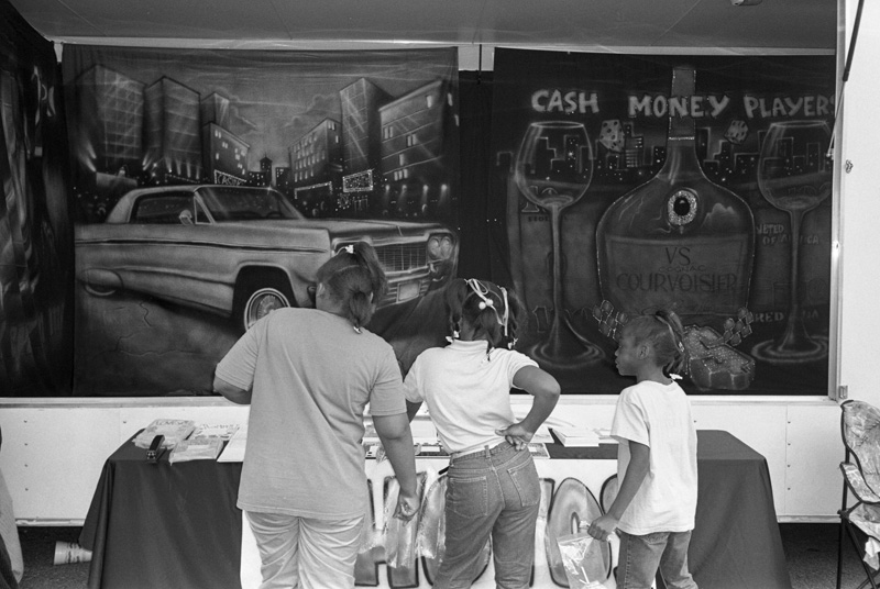 Carnival Booth, Helena, Arkansas, 2002