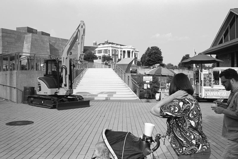 Tourist Family, Chattanooga, Tennessee, 2012